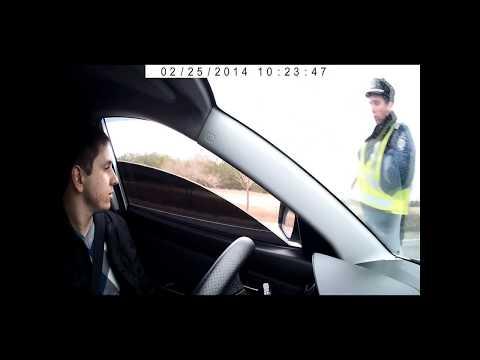 Как полиция провоцирует на обгон