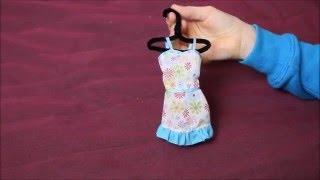 Вешалка для платьев Barbie / мастерим сами  !!!
