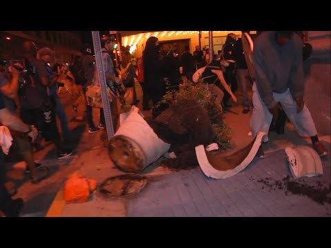 Raw: Arrests Reported in St. Louis Protests