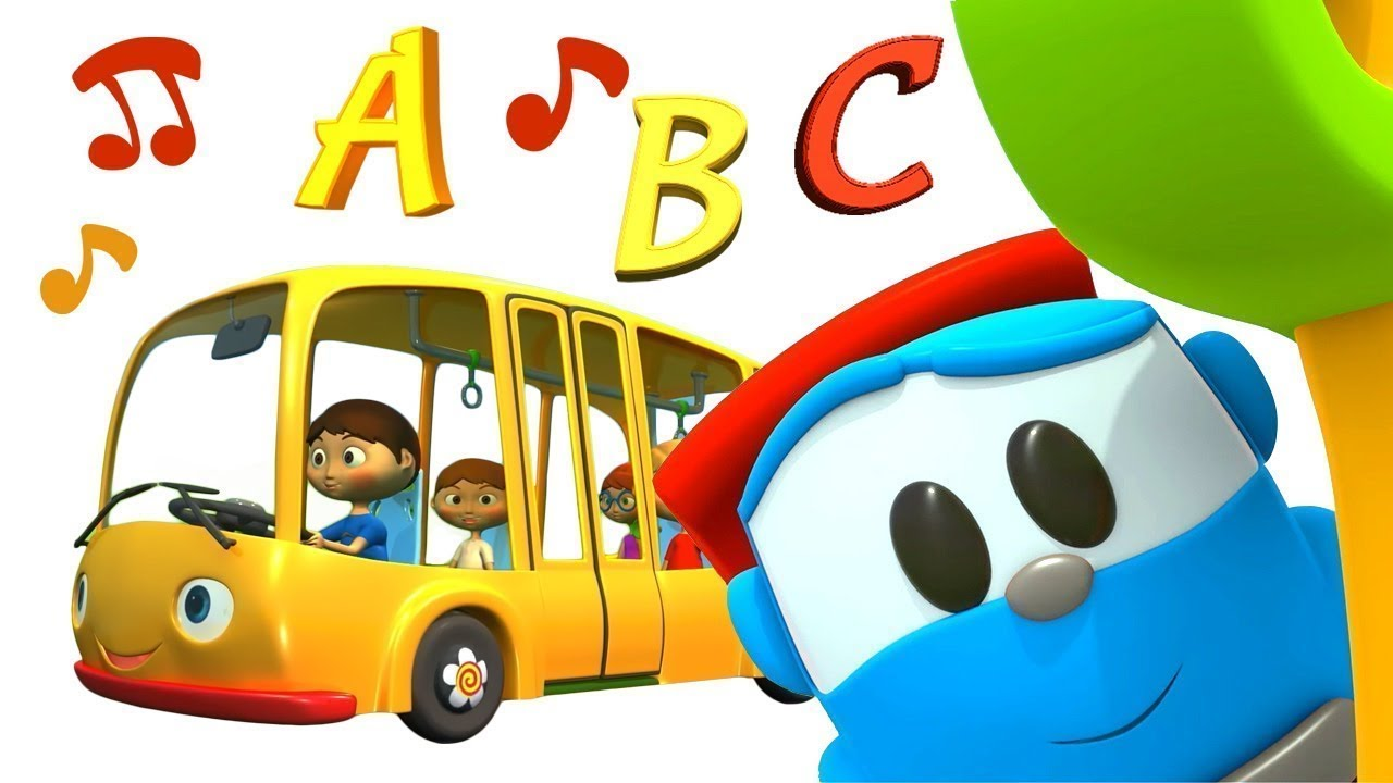 Download Bebek şarkıları. Leo ile Alfabe! Çocuklar için çizgi filmler.