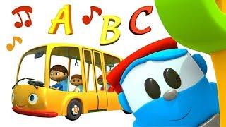 Bebek şarkıları. Leo ile Alfabe! Çocuklar için çizgi filmler.