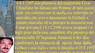 CASSANO IONIO CAVALIERE GAETANO PERRONE SALVATORE FRANCA FAILLACE LO SCANDALO DEL SECOLO wmv