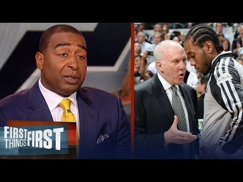 Cris Carter on Gregg Popovich's intentions for Kawhi Leonard   NBA   FIRST THINGS FIRST