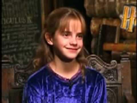 Emma Watson Interview Philosophers Stone Youtube