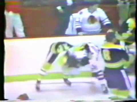Bruins vs Blackhawks Brawl 1970