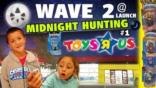 Skylanders Trap Team Hunting: WAVE 2 @ MIDNIGHT LAUNCH!  Fist Bump, Tread Head, + Traps & More (# 1)