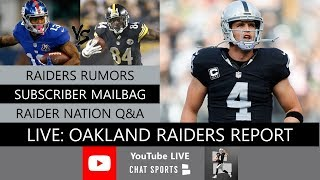 Oakland Raiders Report LIVE Fan Mailbag Plus Q&A With Mitchell Renz (2/19/19)