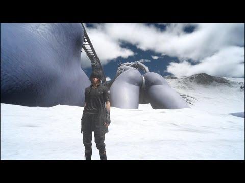 Final Fantasy XV OOB Glitch - Pagla, Tenebre, Shiva