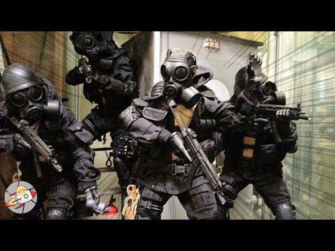 【衝撃】世界最高の特殊部隊TOP8☆まるで映画の世界