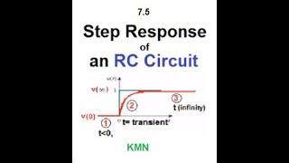 LCA 7.5 (English)(Alexander) Sтep Response of an RC Circuit
