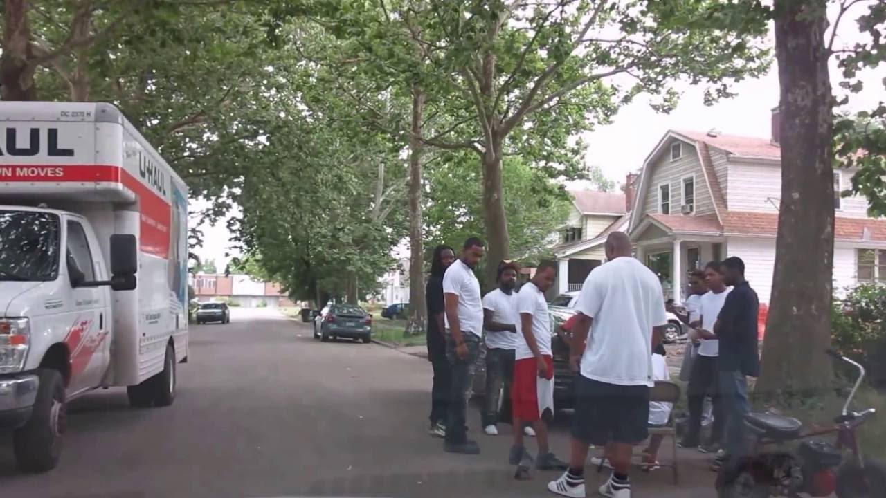 Detroit People Chillin In The Hood Youtube