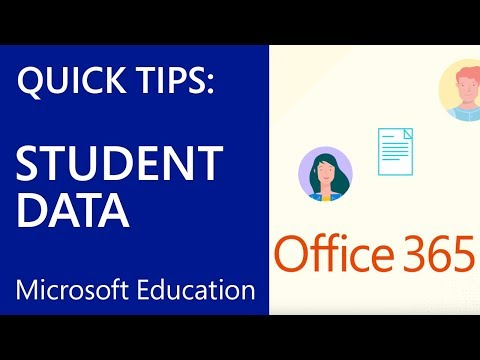 Microsoft Education: Use School Data Sync to Import Student Data
