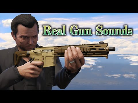 【GTA5】Real gun sounds