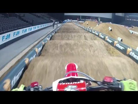 2017 Paris SX | Cole Seely GoPro | TransWorld Motocross