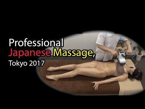 Professional Japanese Massage, Tokyo 2017