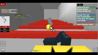 escape the jail island on roblox fail video