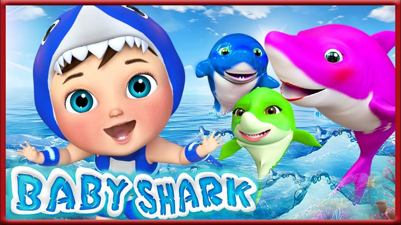 Pinkfong Shark Sound Doll Korean HANGUL Version For Baby/&Kids Blue
