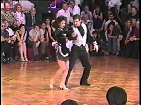 Robert Royston and Laureen Baldovi-Mason 1996 Superstars US Open west coast swing