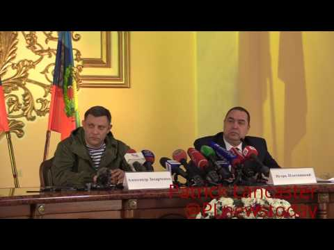 (ENG SUBS)DPR & LPR sign program to support residents in Ukraine controlled territory