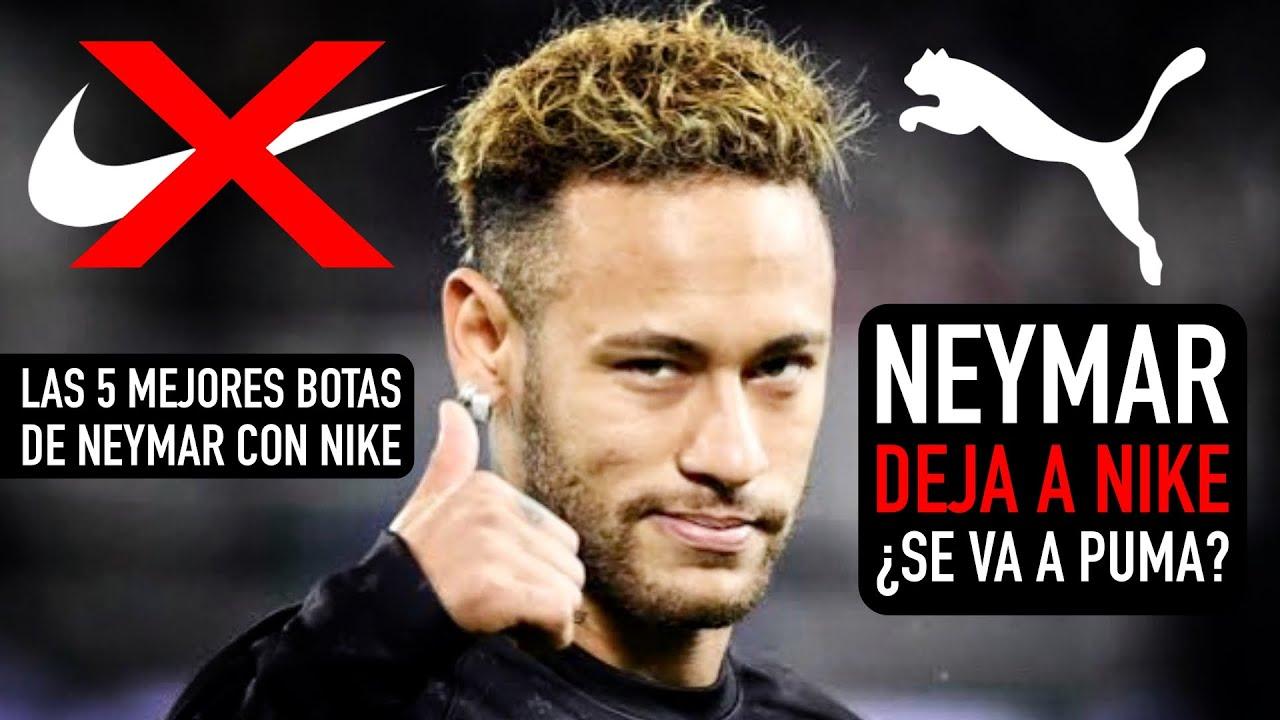 Neymar Deja Nike Se Va A Puma Las 5 Mejores Botas De Neymar Con Nike Youtube