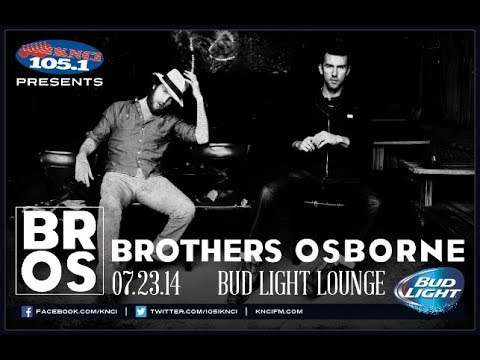 Brothers Osborne - Let's Go There (Live)
