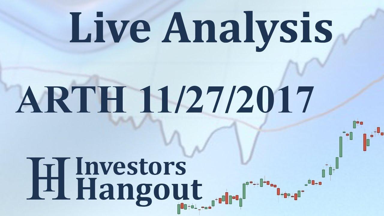 arth stock live analysis