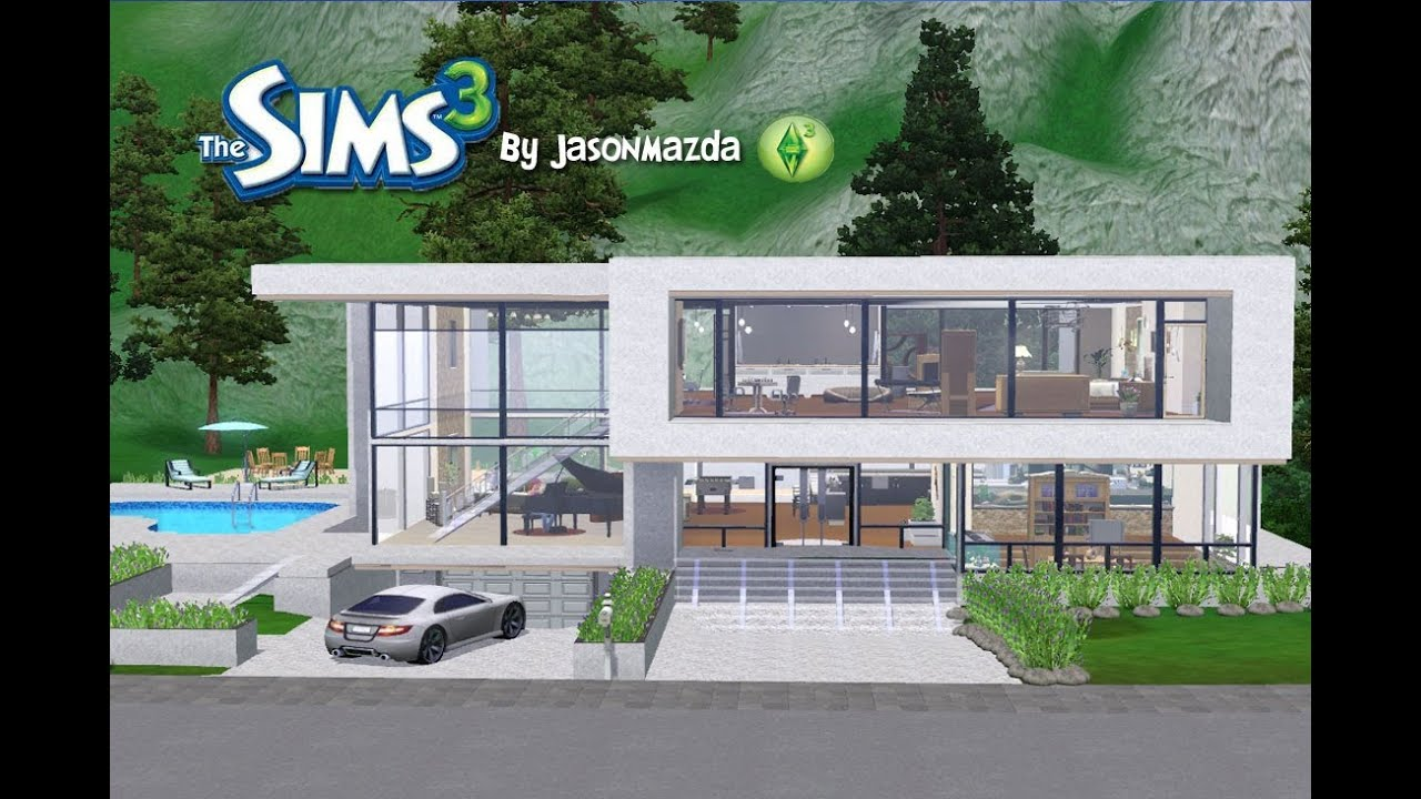 The Sims 3 House Designs Modern Unity