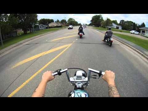 Riding Through Bathurst NB With Some Friends! CONTOUR ROAM2