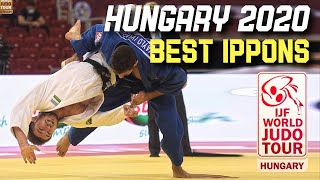 Top Judo Ippons from Hungary Judo Grand Slam 2020
