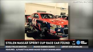 Stolen Nascar No. 44 Car Has Been Found