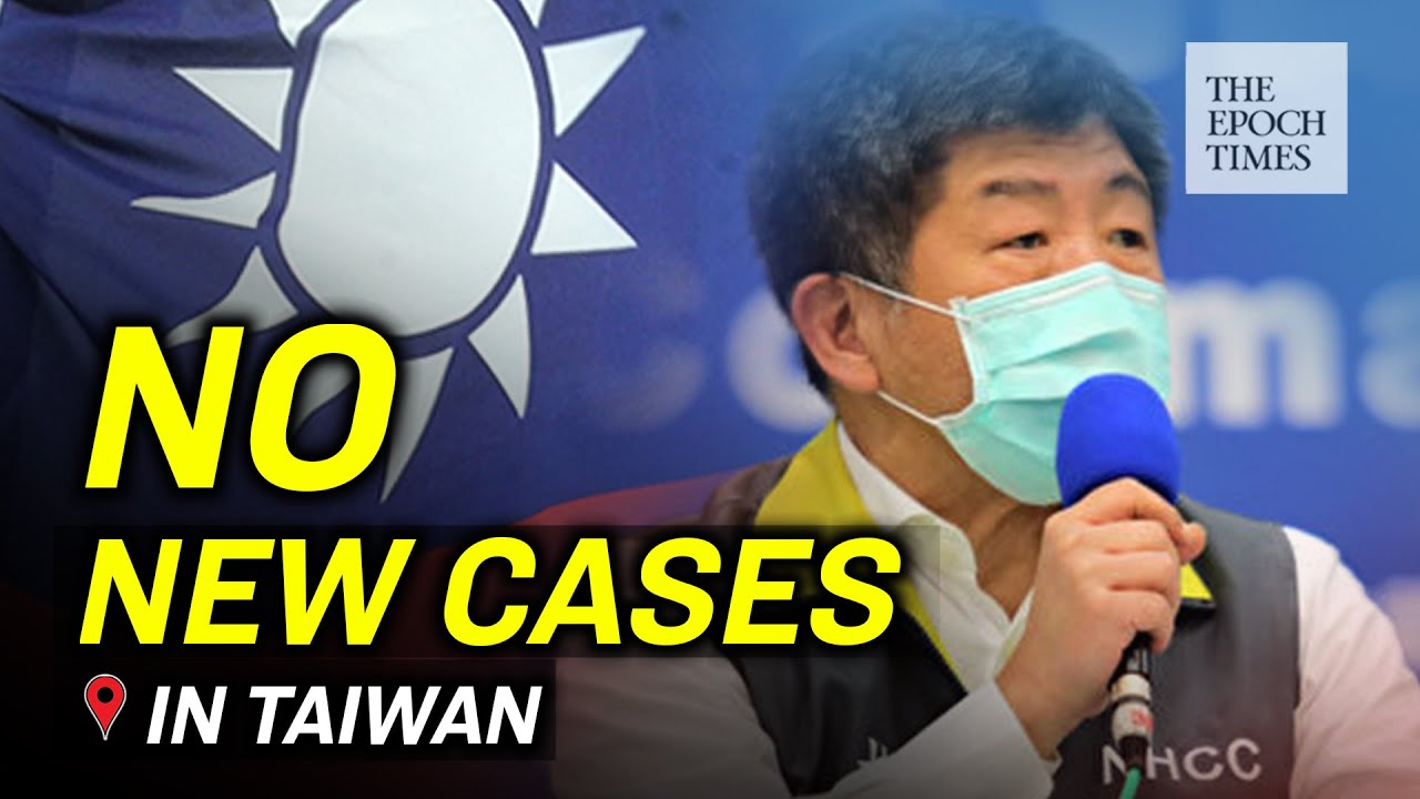 No New Confirmed Cases of the CCP Virus for 14 Consecutive Days in Taiwan