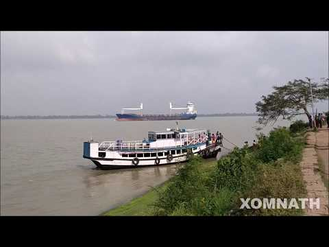 NOORPUR TO GADIARAA BY LONCH / A BIG CARGO SHIP