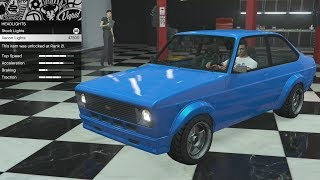 GTA 5 - DLC Vehicle Customization - Vapid Retinue Mk II (Ford Escort) and Review