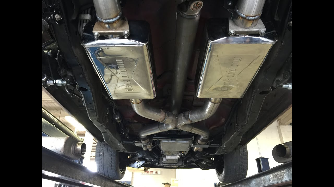Freeway Cruising Black Widow Mufflers Dual Pro 250 3 Youtube