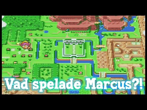 Vad spelade Marcus förr? - The Legend of Zelda: A Link to the Past!