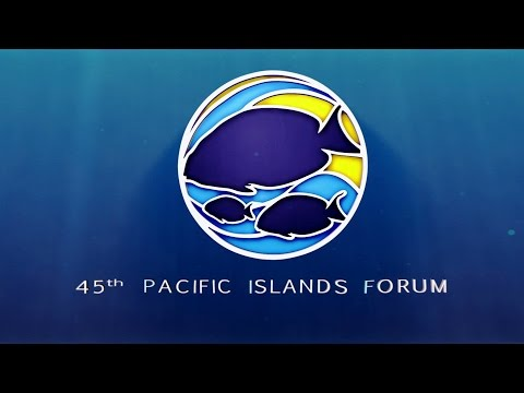 45th Pacific Islands Forum Intro