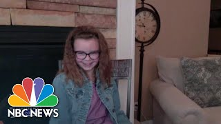 7-Year-Old Aspiring Reporter Interviews Lester Holt   Nightly News: Kids Edition