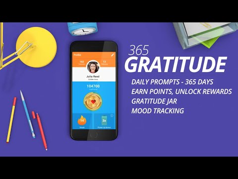 365 Gratitude: Journal, Prompts, Grateful Quotes - Apps on