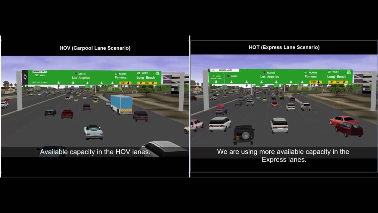 Express Lane California >> Hot Express Lane Demonstration Orange County California