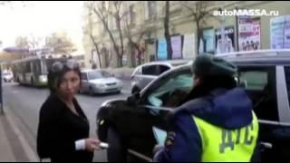 Хамская парковка женщины на Порше Кайен в Краснодаре
