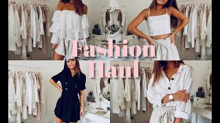 FASHION HAUL I SUMMER STAPLES  ▹ Zaramiraa ♡