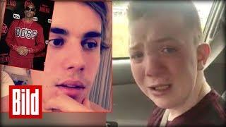 Mobbing - Keaton Jones bekommt Hilfe von Chris Evans und Justin Bieber / bullying