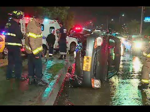 Accidentes de tránsito: una persona falleció y cuatro resultaron heridas en Bogotá| Noticias Caracol