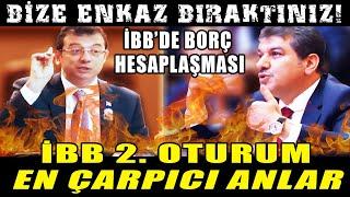İstanbul'un Borçları İki Partiyi Birbirine Düşürdü! İBB Meclisi Alev Alev!