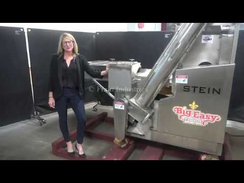 Stein, Heritage Model, Automatic Stainless Steel Breading Applicator.
