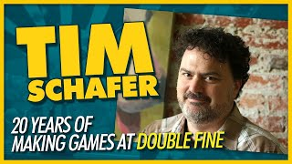 Tim Schafer and 20 Years of Double Fine - We Have Cool Friends