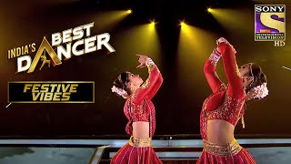 Trio का 'Nagada Sang Dhol' पे एक धमाकेदार Performance | India's Best Dancer | Festive Vibes