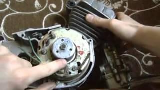 Регулировка зажигания на мопеде СССР