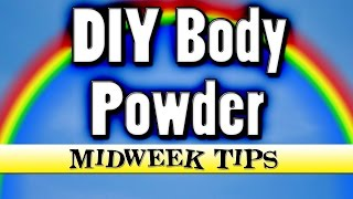 DIY Deodorant Body Powder