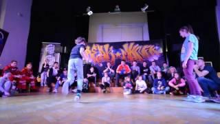 Bgirl Battle 1vs1 do 15 lat / Emilka vs Pikachu